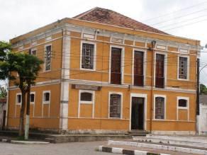 Antiga Delegacia de Polícia e Cadeia Pública de Iguape. Hoje prédio em uso pela Promoção Social.