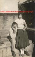 O saudoso Delegado de Polícia da DISCCPAT- DEIC (Kilo), Paulo Almeida Vinhas e sua noiva (futura esposa) Cristina, em 1.956.