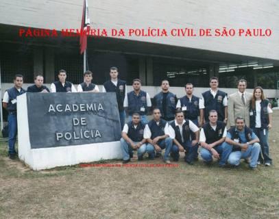 Turma do Curso de Formação Técnico Profissional para Investigador de Polícia, 2.002 na ACADEPOL.