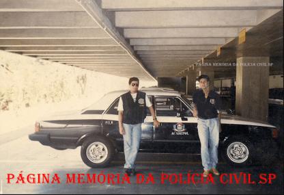 Investigadores Márcio do 2º DP de Itanhaém e Amauri de Itariri, na época em que estavam na ACADEPOL, EM 1.994.