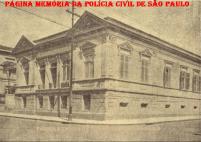 Antiga Escola de Polícia, na esquina da rua dos Gusmões e avenida Rio Branco, em 1.927.