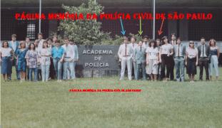 Turma do Curso Técnico Profissional para Escrivão de Polícia na ACADEPOL, de 1.985. (Acervo do Perito Judicial Reginaldo Tirotti, à época Escrivão).