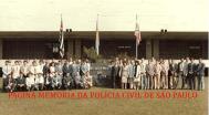 """Turma """"B"""" de 1.988, do curso de formação técnico- profissional para Delegado de Polícia da ACADEPOL."""