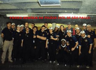 No estande de tiros da ACADEPOL, turma do Curso de Formação Técnico- Profissional de Delegado de Polícia, ano de 2.012. (Acervo do Delegado Akhenaton Nobre).