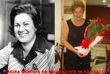 """A primeira Delegada de Polícia do estado de São Paulo, Ivanete Oliveira Velloso. Era professora primária e se tornou investigadora em 1.964, quando decidiu investir na carreira de Delegada de Polícia. Tornou-se bacharel em direito pela Universidade Presbiteriana Mackenzie e prestou o concurso para delegado duas vezes. """"A primeira vez que fui fazer a prova, eu estava no final da gravidez do meu primeiro filho e fiquei esperando do 12h até 20h para fazer o exame porque acharam que havia vazado o gabarito"""", lembra Ivanete. As dificuldades não a impediram de realizar seu desejo em 1974. Ela tomou posse em 75, junto de outros 21 delegados. Aposentou-se em 2.007, quando completou 70 anos de idade. A delegada conta que apesar de ter recebido apoio de seus colegas, algumas autoridades não gostaram muito da novidade na corporação, como o secretário de Segurança da época, o coronel Antônio Erasmo Dias. """"Ele achou ruim, dizia até que já que deixaram uma mulher passar, não tinha como impedir a sua permanência"""", conta Ivanete. Durante os 32 anos como delegada, ela nunca saiu da Grande São Paulo, mesmo assim, transferências não faltaram. """"Houve um período de uns cinco anos que eu mudei umas dez vezes de delegacia, eu não agüentava mais levar minha plantas de um lugar para outro"""", brinca ela. De um estágio na delegacia de menores, Ivanete foi para o Deic (Departamento de Investigações sobre Crime Organizado), onde trabalhou na repressão de entorpecentes. Além de muitos distritos policiais, passou por duas Delegacias da Defesa da Mulher (DDM), inaugurou a 1ª Delegacia do Idoso, na Capital, foi para São Bernardo do Campo atuar na Delegacia do Meio Ambiente e voltou para trabalhar no Decap (Departamento de Polícia Judiciária da Capital). Ivanete conta que foi muito difícil para uma mulher trabalhar na delegacia de entorpecentes. """"Na década de 70 não tinha muita apreensão, mas víamos muitos jovens com drogas e suas mães iam lá, sofriam em ver os filhos num estado ruim, meu coração sen"""
