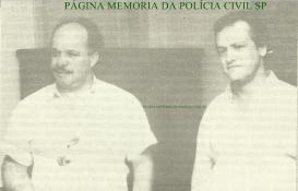 Investigadores de Polícia Ícaro e Ivano, durante a década de 70, 80 e 90, foram da equipe de viagem da antiga Divisão de Homicídios do DEIC e do DHPP, esclarecendo inúmeros intrincados crimes. Uma dupla de policiais que ficou na história da Polícia Civil paulista, foto de 1.988.