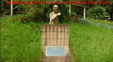 """Busto em homenagem ao Delegado de Polícia José Alves dos Reis """"in memorian"""", em 11/10/2003, que fica no parque público localizado na Estrada das Lágrimas, em São Caetano do Sul e leva seu nome. (colaboração do Agente Brincks Antonio Carlos Passador)."""