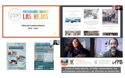 """""""Vivir en Las Rejas"""": Colaboración e identidad barrial en el Día del Patrimonio 2021"""