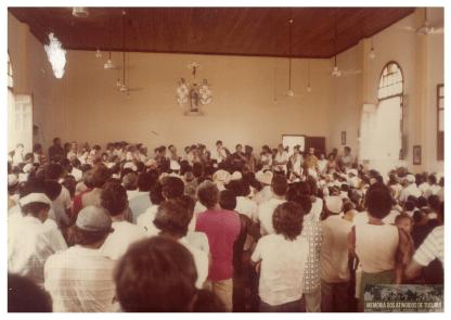 15 - Primeiro Acampamento - Memoria dos Atingidos de Tucuruí