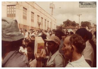 17 - Primeiro Acampamento - Memoria dos Atingidos de Tucuruí