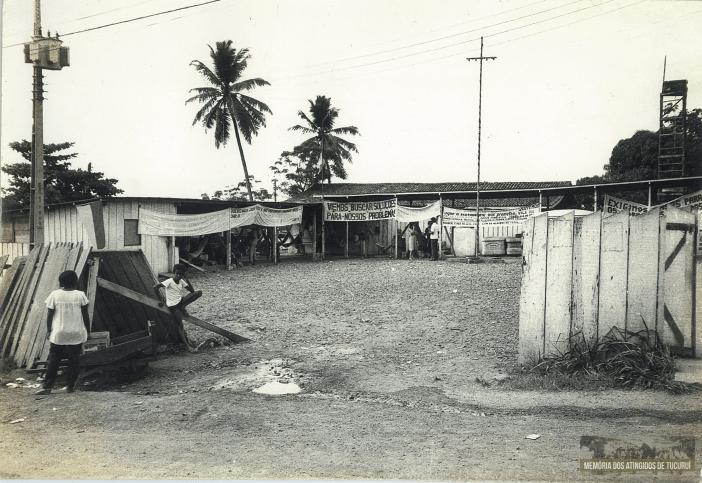 46 - Primeiro Acampamento - Memoria dos Atingidos de Tucuruí