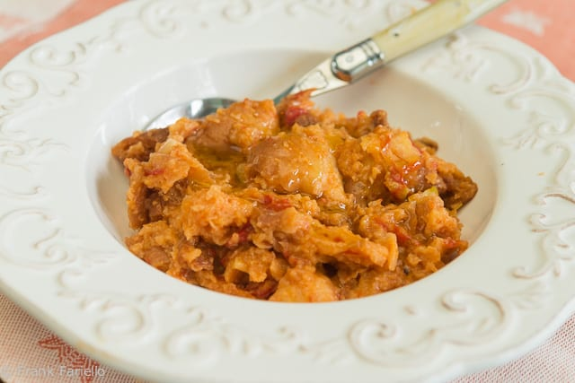 """Pappa al pomodoro (Tuscan Tomato and Bread """"Soup"""")"""