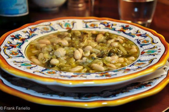 Zuppa di scarola e fagioli (Escarole and Bean Soup)