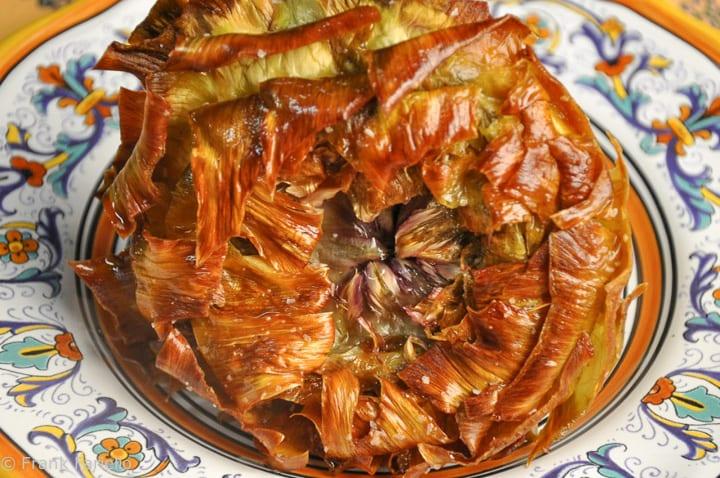 Carciofi alla giudia (Jewish Style Artichokes)