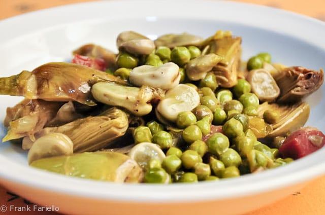 La vignarola (Roman Spring Vegetable Medley)