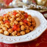 Struffoli (Angelina's Honey Balls)