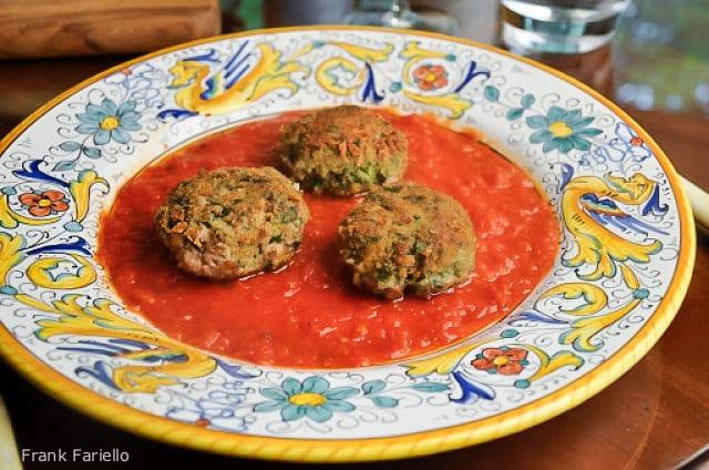Crocchette d'agnello e bieta (Lamb and Swiss Chard Croquettes)
