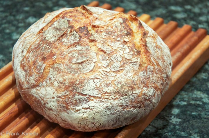 Pane casereccio (Homemade Bread)