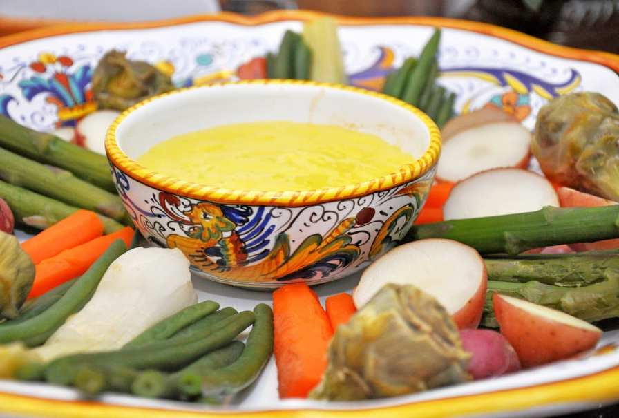 Aïoli with Spring Vegetables