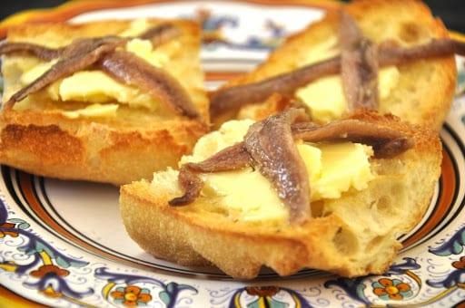 Pane Burro e Acciughe (Bread Butter and Anchovies)