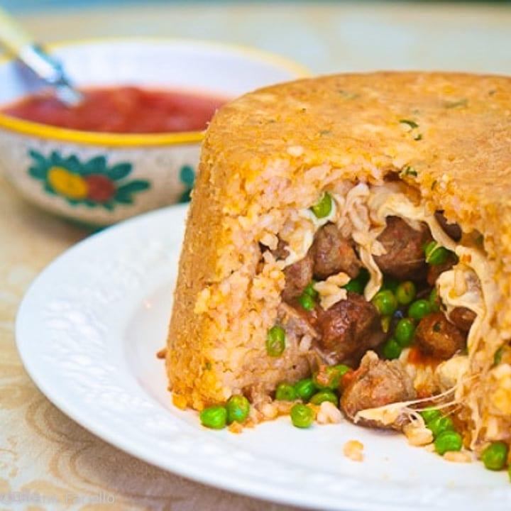 Sartù di riso (Neapolitan Rice Timbale)