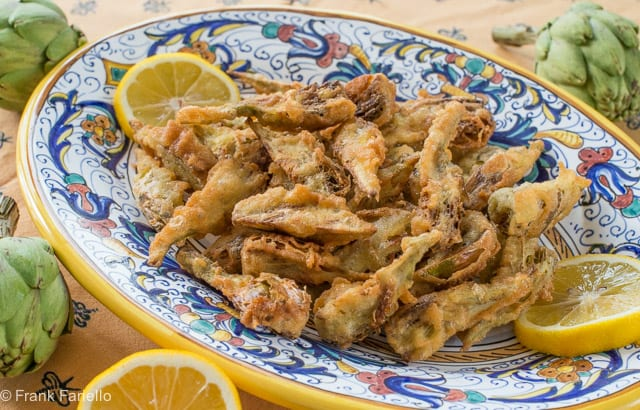 Carciofi fritti alla romana (Roman-Style Fried Artichokes)