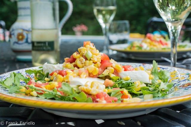 Insalata caprese all'americana (American-Style Caprese Salad)