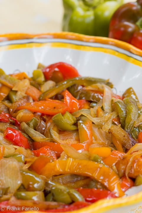 Angelina's Fried Peppers