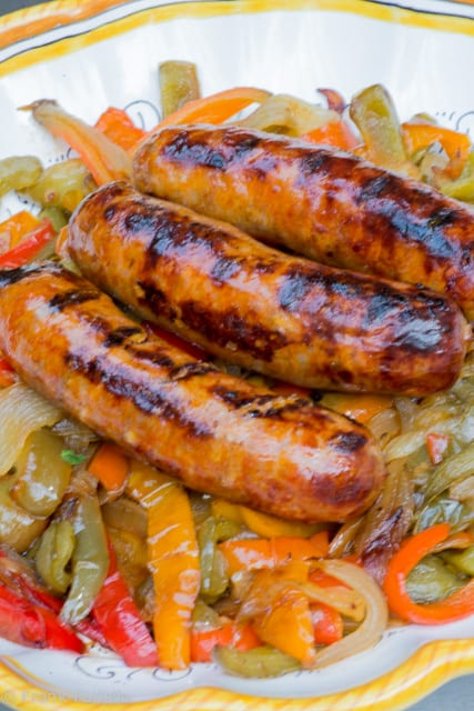Sausage and Fried Peppers