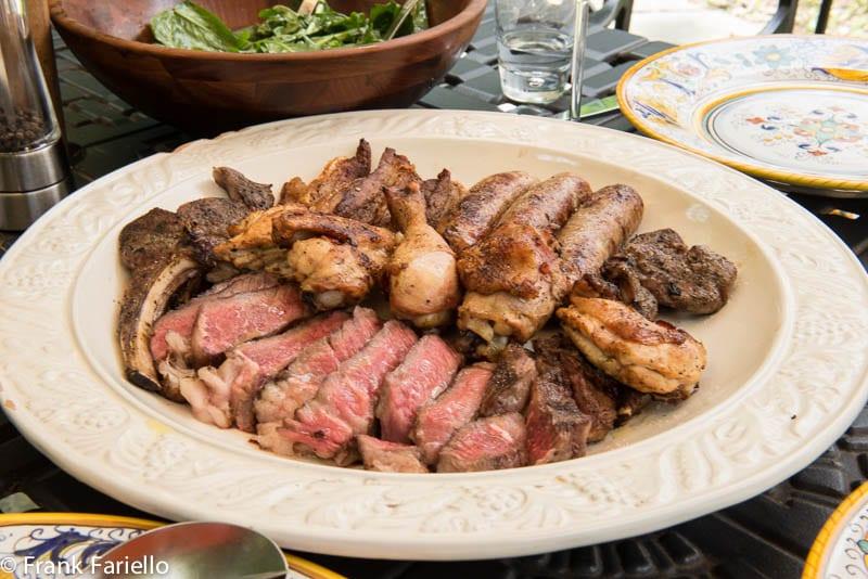 Grigliata mista di carne (Mixed Grilled Meats)