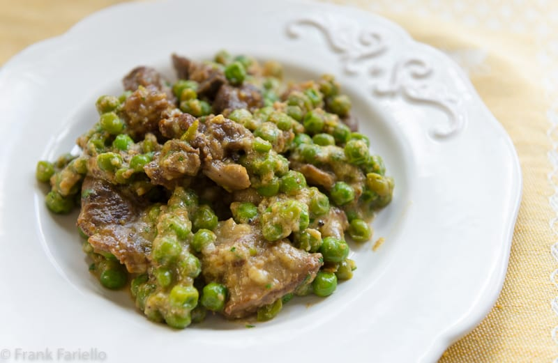 Agnello e piselli (Lamb and Peas)