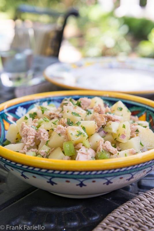 Potato Tuna Salad
