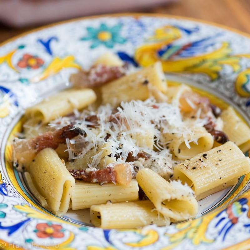 Pasta alla gricia: The Mother of Roman Pastas