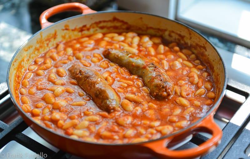 Salsicce e fagioli (Sausage and Beans)