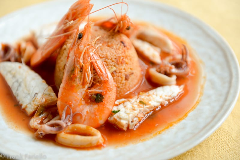 Couscous di pesce (Fish Couscous)
