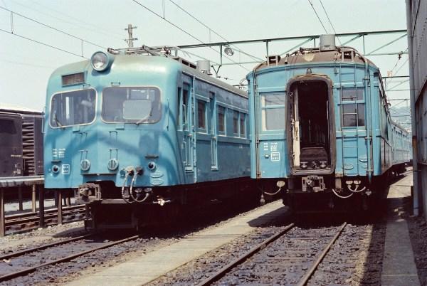 クモユニ81とクモハ60