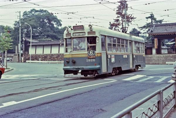 京都市電1900型1926