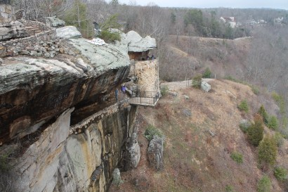 Lovers Leap - Chattanooga (Tennessee), USA - February 2017