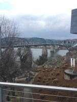 Walnut Street Bridge - Chattanooga (Tennessee), USA - February 2017