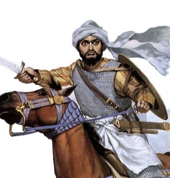 early arab warrior