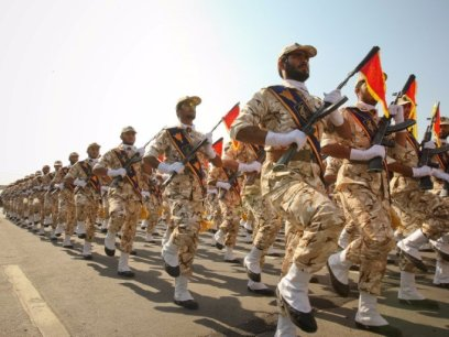 Iranian troops