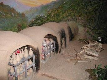 Huge kiln for firing the pots