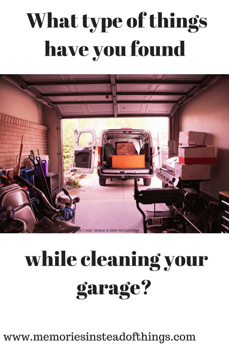 Existing in your Garage