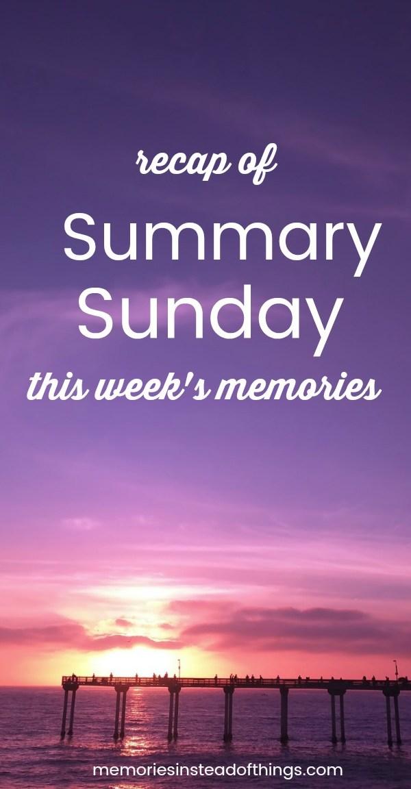 Summary Sunday