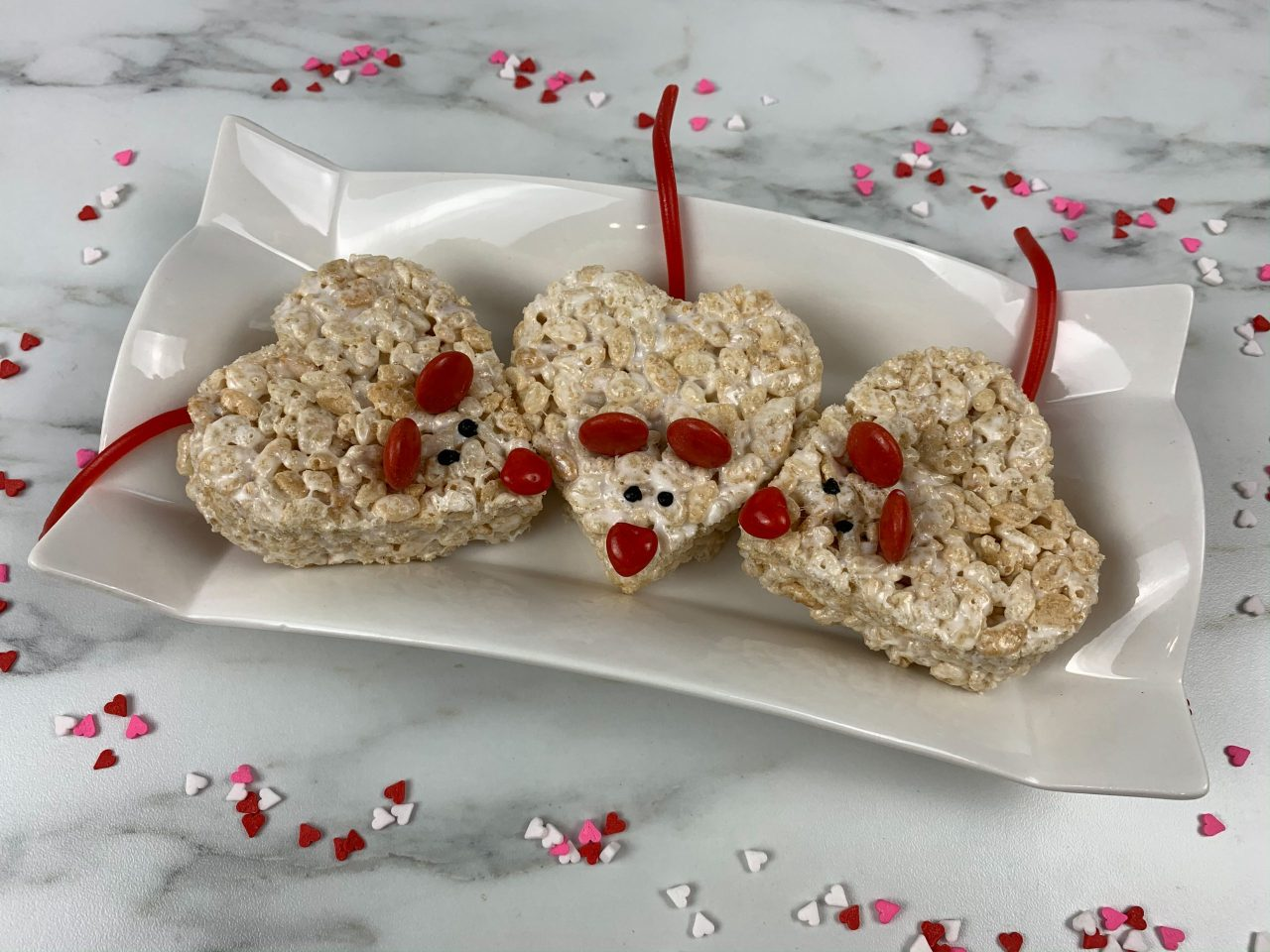 3 Mice Krispie Treats