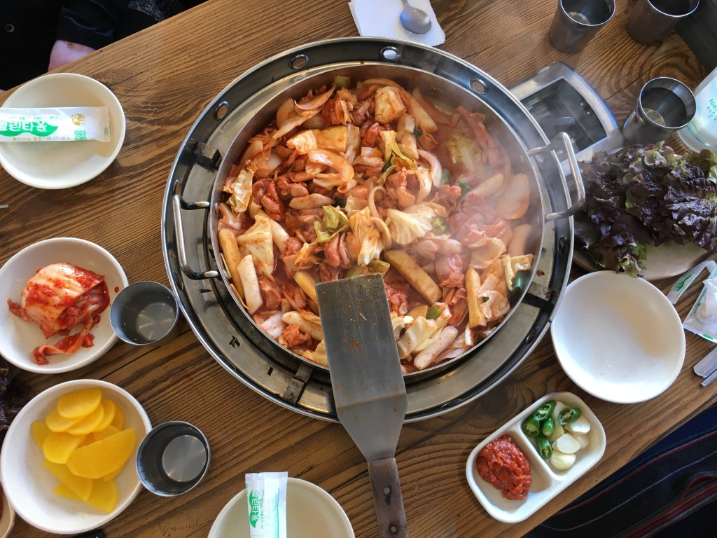 Dakgalbi from Chuncheon