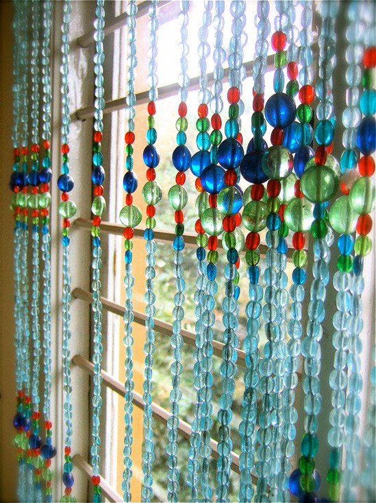 Moroccan Blue Bead Curtain Memories Of A Butterfly Buy Beaded