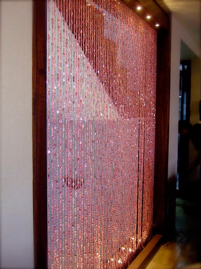 Npink Bead Curtain