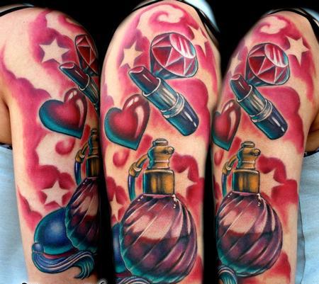 Tatuagem NEW SCHOOL memories tattoo tatuagem estilo de