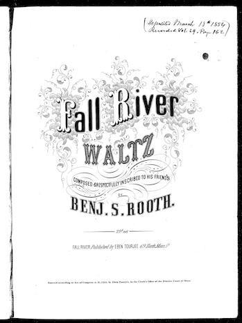 Fall River waltz / [sheet music]:Print Material